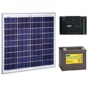 Kit solar 50W 12V