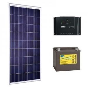 Kit solar 80W 12V