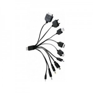 Câble USB 10 téléphones