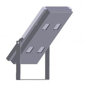 Projecteur solaire 4 LED