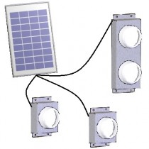 Modules éclairages solaires