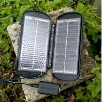Chargeur solaire voyage