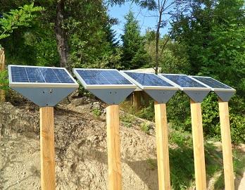 Kit solaire d'éclairage Soltys