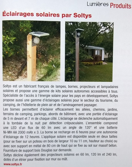 Presse Lumieres Soltys