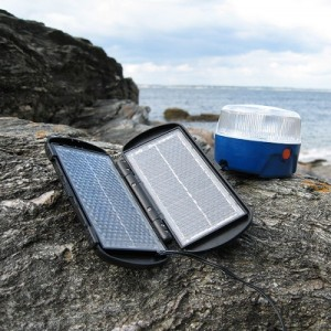 Solar lamp for travel