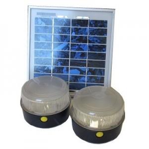 Kit solar Iluminación 2 lámparas