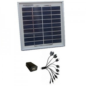 3W solar charger for mobiles