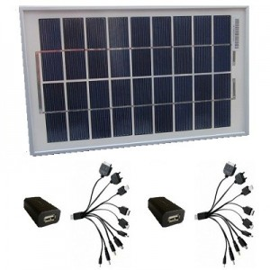 5W solar charger for mobiles