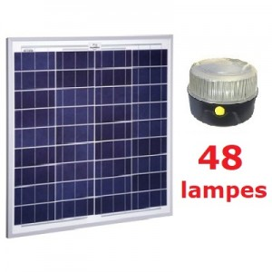 Kit solaire Collectif 48 lampes